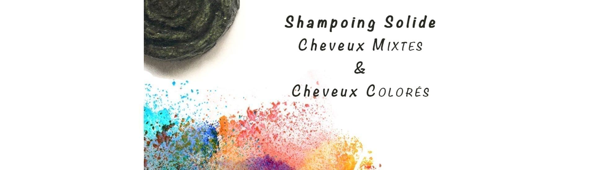 Shampoing solide cheveux mixtes & colorés