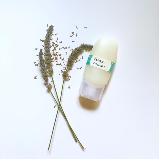 Savon liquide nourrissant pour mains au savon de Marseille et beurre végétal