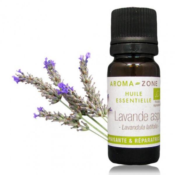 huile essentielle de lavande aspic d'Aromazone