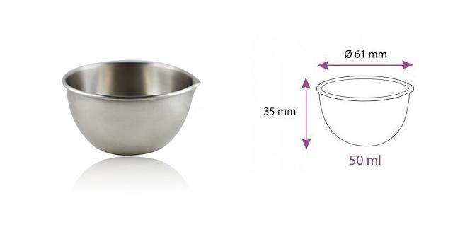 petit bol inox aromazone 100 ml