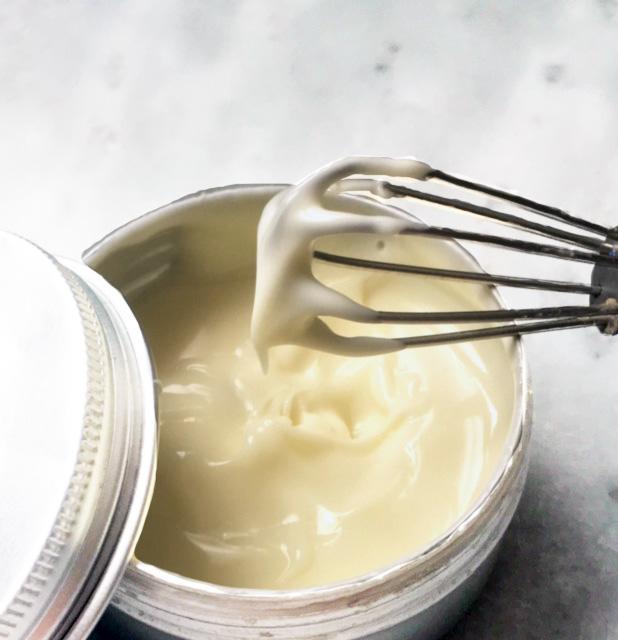 Texture pour crème peau grasse avec premières rides