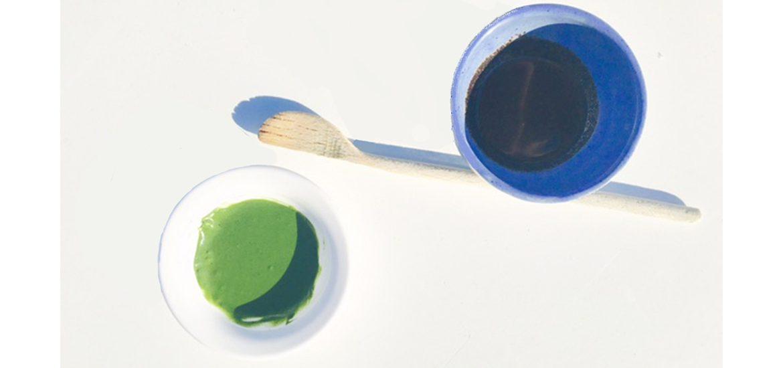 Gommage vegan au sirop d'agave + marc de café & masque à la spiruline et poudre de neem