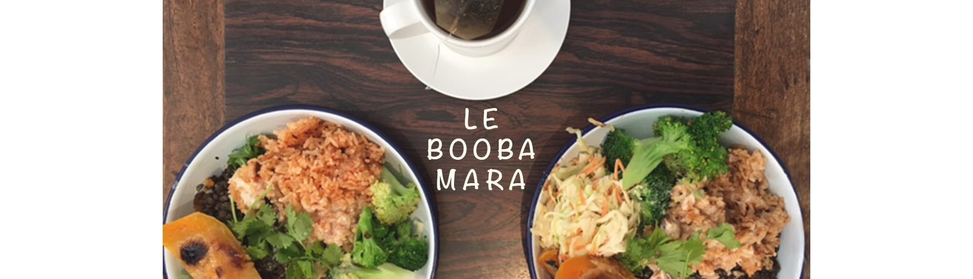 Déjeuner végétarien au Booba Mara à Paris
