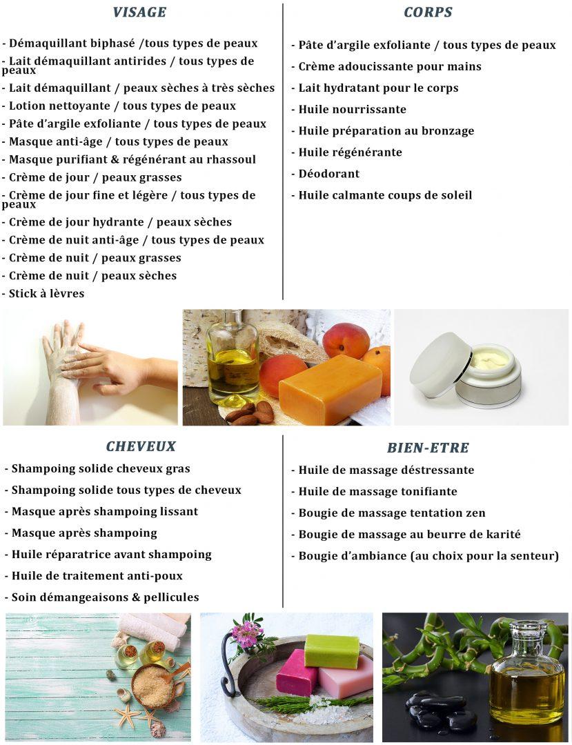 recettes ateliers cosmétiques