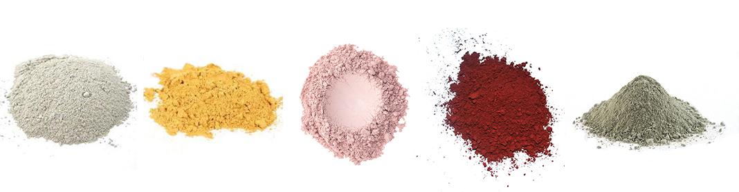 Types d'argiles : réduisons os déchets cosmétiques
