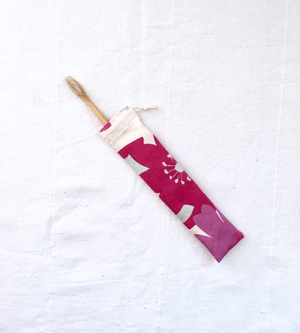 Pochettes brosses à dents Violette