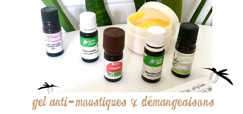 bandeau gel anti moustiques & démangeaisons