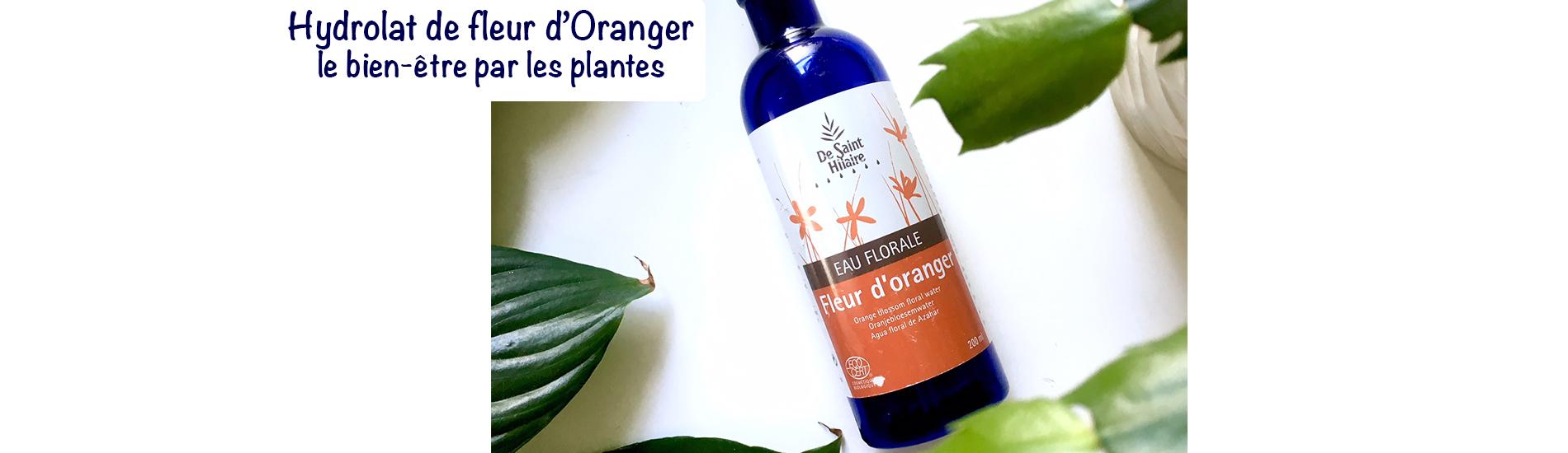 Bandeau hydrolat fleur d'oranger