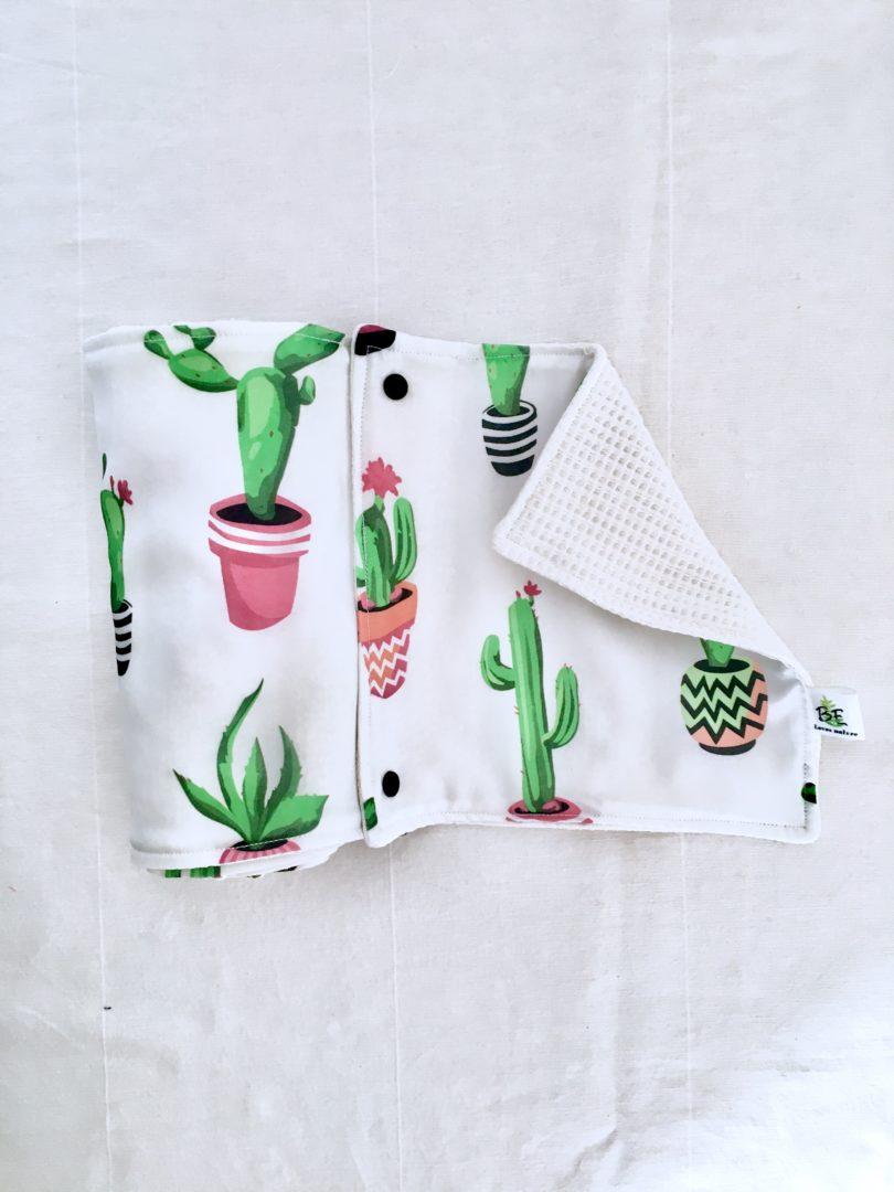 Essuie-tout lavable lot de 5 - Cactus