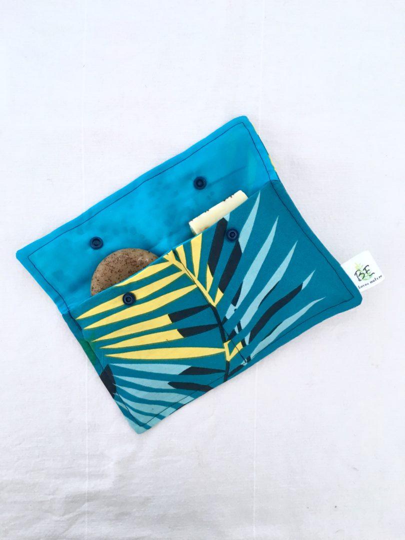 Pochette serviettes hygiéniques Safari 1 ouverte