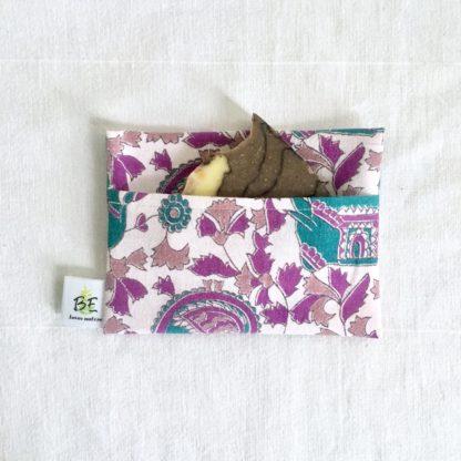 pochette à savon portefeuille India