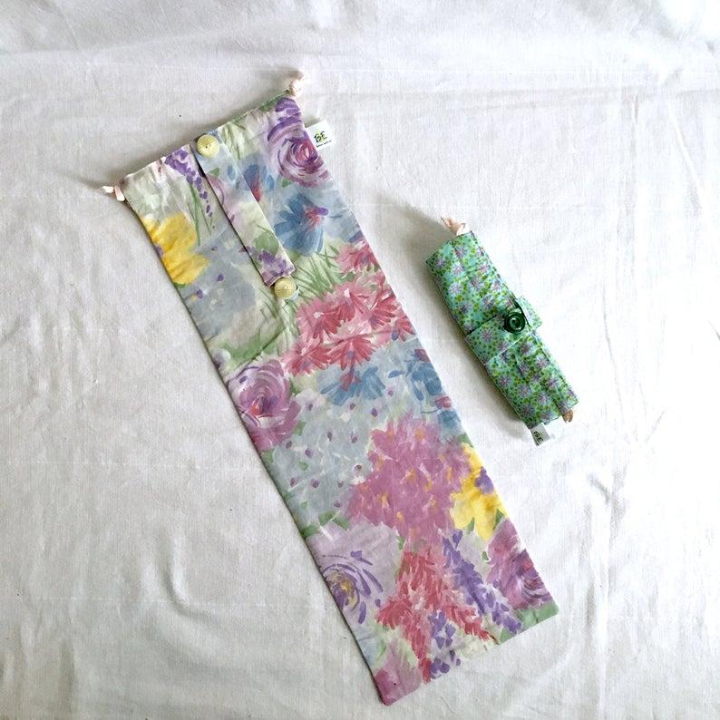 sac à baguette & flûte Aquarelle