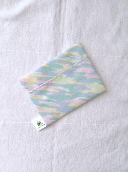 pochette à savon portefeuille Pastel