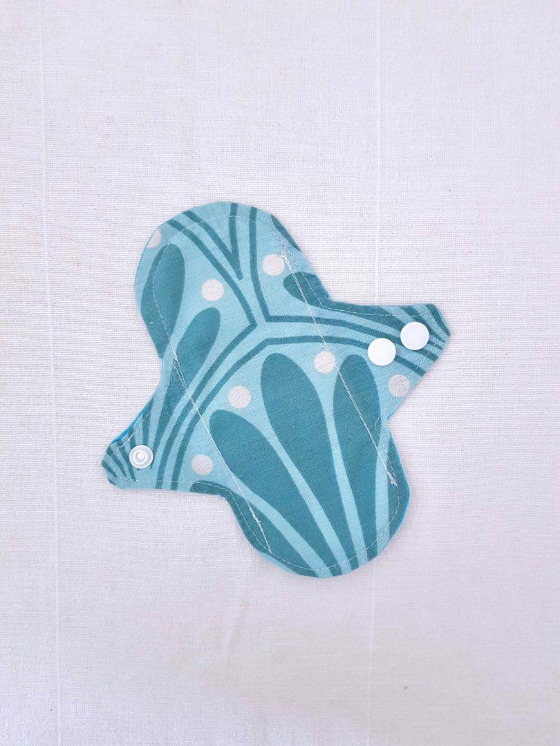 protège slip bleu nénuphar