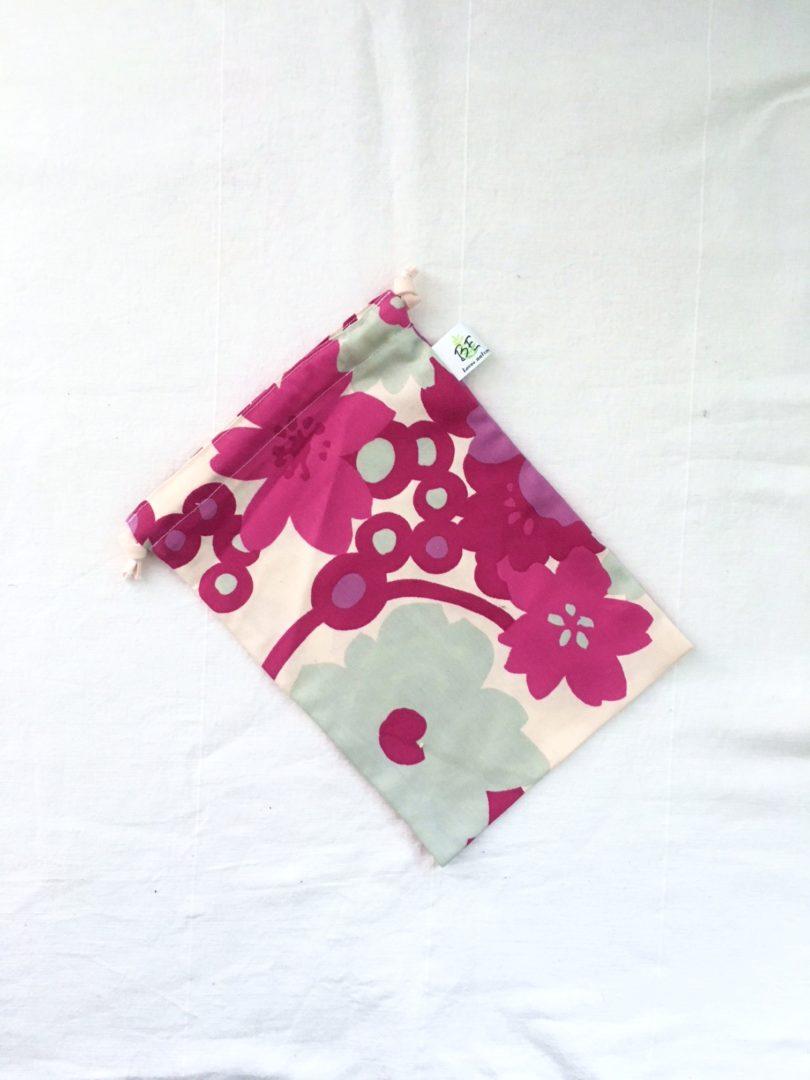 sac à vrac M Spirales et fleurs