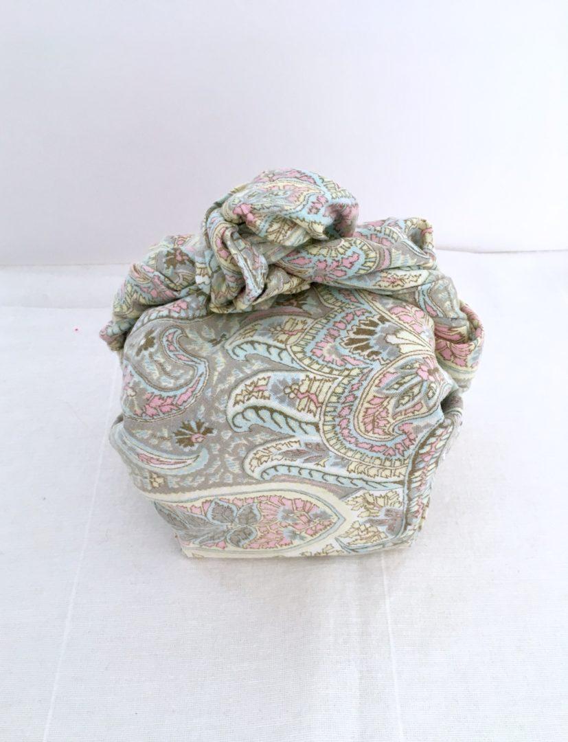 Furoshiki Cachemire pastel