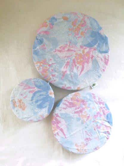 Charlottes à plats réutilisables aquarelle