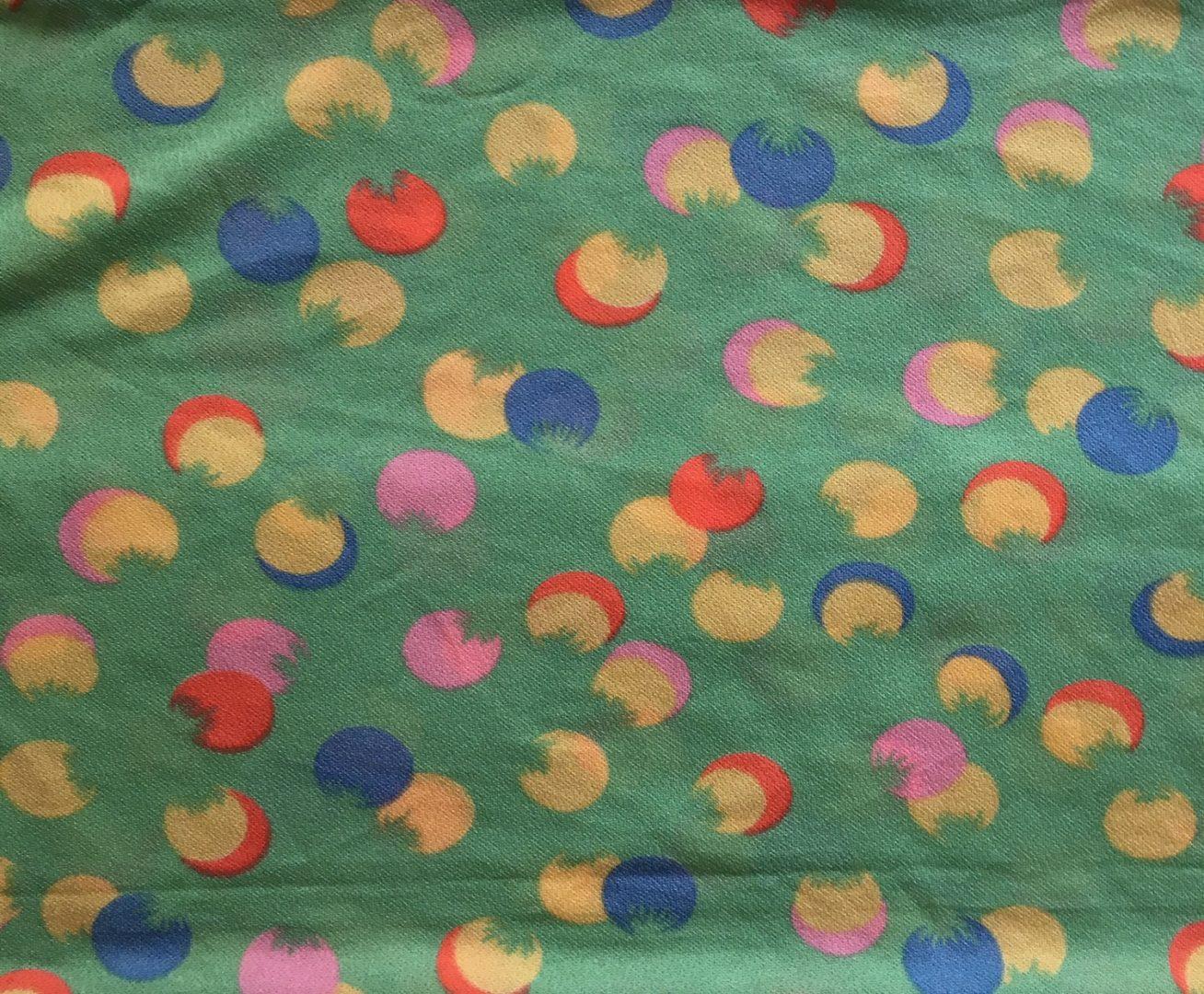 Furoshiki vert & jaune