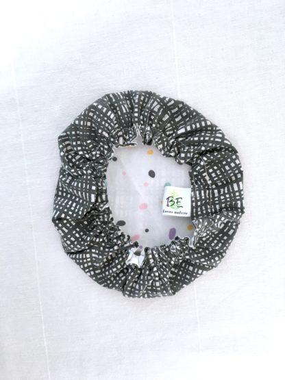 Charlotte à plats tissu Graphique gris M