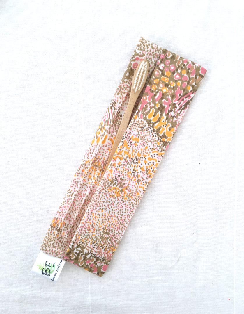 Pochettes brosse à dents imperméable Eclat doré